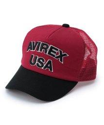 AVIREX/AVIREX/アヴィレックス/LOGO MESH CAP/ロゴ メッシュ キャップ/501428599