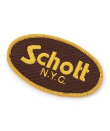 Schott/SCHOTT/ショット/ BASIC LOGO PATCH/ベーシック ロゴ パッチ/501428808