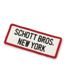 Schott/SCHOTT/ショット/ SQUARE LOGO PATCH/スクエア ロゴ パッチ/501428810