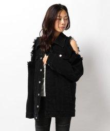 LHP/Chica/チカ/Damege Denim Jacket/501429030