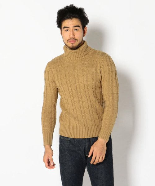 LHP(エルエイチピー)/LHP/エルエイチピー/Cable Turtleneck Knit/6001163622-60