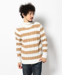 LHP/LHP/エルエイチピー/Cable TurtleNeck Knit/501429546