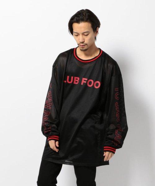LHP(エルエイチピー)/DankeSchon/ダンケシェーン/Mesh L/S T-Shirts/6016173112-60