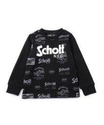Schott/【KIDS】SCHOTT/ショット/LOGO SWEAT/裏毛 ロゴ トレーナー/501429950