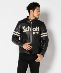 Schott/SCHOTT/ショット/CAFE RACER BASIC JACKET/カフェ レーザー ベーシック ジャケット/501430881