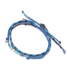 RoyalFlash/WAKAMI/ワカミ/3連Anklet blue mix/501431324