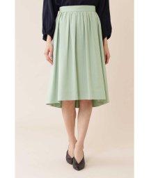 NATURAL BEAUTY/タックギャザーふんわりカラースカート/501431423