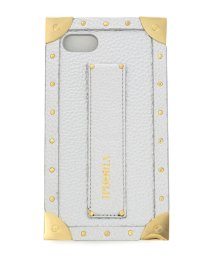 LHP/IPHORIA/アイフォリア/iPhone8/TRUNK CASE - SILVER/501431756