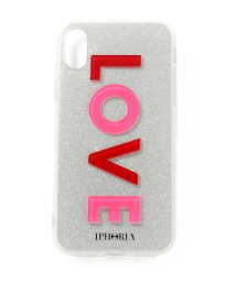 LHP/IPHORIA/アイフォリア/iPhoneX/LOVE PINK RED/501431775