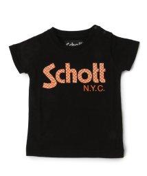 Schott/【KIDS】SCHOTT/ショット/CHECKER LOGO T-SHIRT/キッズ チェッカー ロゴTシャツ/501432709