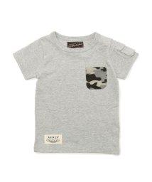 AVIREX/AVIREX/アヴィレックス/ 迷彩ポケット Tシャツ/ CAMOUFLAGE POCKET T-SHIRT/501432713