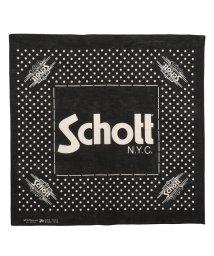 Schott/Schott/ショット/COTTON BANDANA POLKA DOTS/バンダナ ポルカドット/501433057