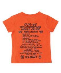 AVIREX/AVIREX/アヴィレックス/キッズ 刺繍Tシャツ エンタープライズ/EMBROIDERED CREW NECK T-SHORT ENTERPRISE/501433143