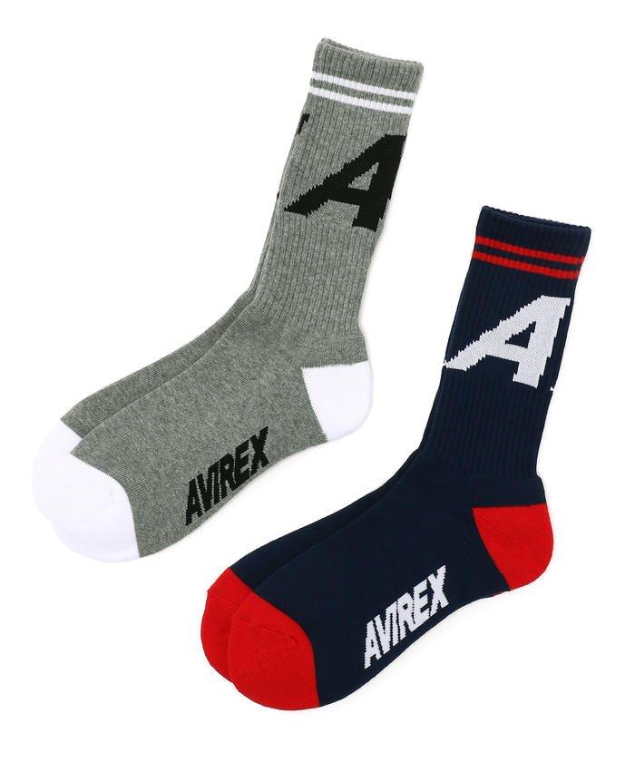 AVIREX/アヴィレックス/Aマーク ソックス/SOCKS A−MARK