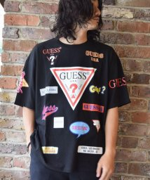 RoyalFlash/【至極の逸品】【別注】Guess×ROYAL FLASH/ゲス ロゴプリント Tシャツ/501434718