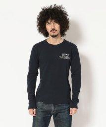 AVIREX/AVIREX/アヴィレックス/ ハニカムワッフル クルーネック Tシャツ/ HONEY COMB WAFFLE CREW NECK T-SHIRT/501435438