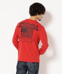 AVIREX/AVIREX/アヴィレックス/クルーネックTシャツ スペースウォーク/CREW NECK T-SHIRT SPACE WALK/501435442