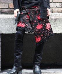 JIGGYS SHOP/ブラッディジャガードアシメキルト / ラップスカート 巻きスカート メンズ /501435670