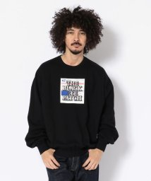 LHP/BlackEyePatch/ブラックアイパッチ/LABEL CREW NECK/501435868