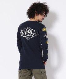 Schott/Schott/ショット/WAFFLE T-SHIRT Schott LOGO/ワッフルTシャツ ショットロゴ/501436357