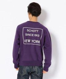Schott/Schott/ショット/CREW NECK SWEAT/クルーネック スウェット/501436361