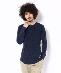 Schott/Schott/ショット/THERMAL HENLEY NECK T-SHIRT/サーマル ヘンリーネック Tシャツ /501436363