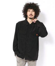 BEAVER/MANASTASH × UNIVERSAL OVERALL 別注 オープンカラーシャツ/501436377