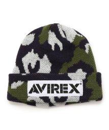 AVIREX/KIDS/AVIREX/アヴィレックス/キッズ カモ柄ニットキャップ/CAMO KNIT CAP/501436414