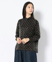 BEAVER/GRANDMA MAMA DAUGHTER/グランマママドーター ラウンドカラーワイドドットシャツ/501436505