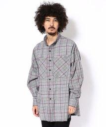 LHP/DankeSchon/ダンケシェーン/グレンチェックリフレクターパイピングシャツ/501436548