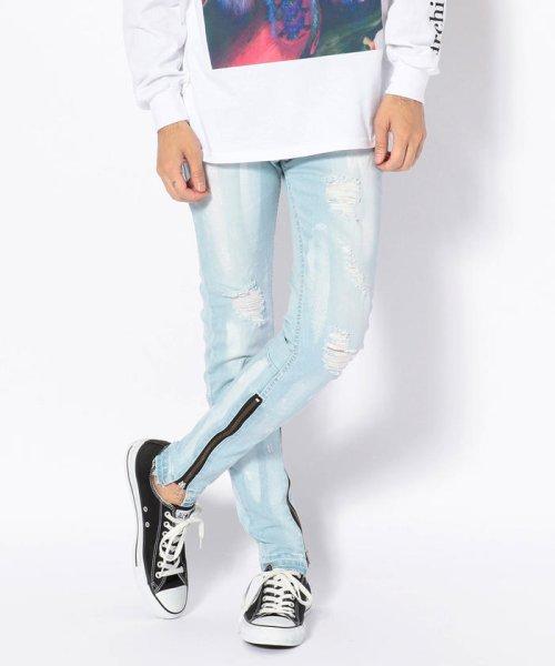LHP(エルエイチピー)/DankeSchon/ダンケシェーン/Side Zip Skinny Pants/6016189130-60