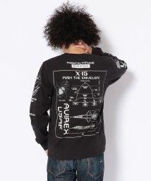 AVIREX/AVIREX/アヴィレックス/ クルーネック Tシャツ X-15/ CREW NECK T-SHIRT X-15/501436587
