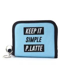 PINK-latte/ナイロンロゴ二つ折り財布/501436849