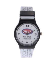 PINK-latte/ロゴビニベルト腕時計/501436850