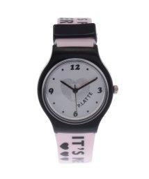 PINK-latte/ホログラムロゴベルト腕時計/501436851