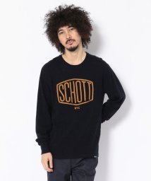 Schott/Schott/ショット/EMBROIDERED KNIT HEXAGON/刺繍ロゴ ニット/501436907