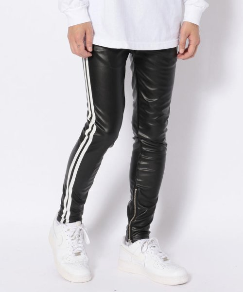 LHP(エルエイチピー)/DankeSchon/ダンケシェーン/Neo Leather LINE Pants/6016189014-60