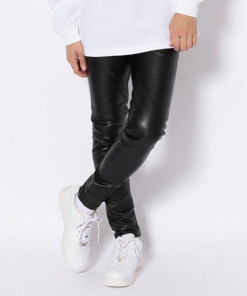 LHP(エルエイチピー)/DankeSchon/ダンケシェーン/NeoLeather Skinny Pants/6016189049-60