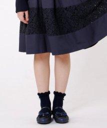 KUMIKYOKU KIDS/【SCHOOL雑貨】グリッターバレエシューズ (22~24cm)/501437483