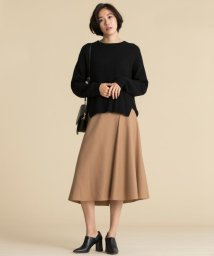 JIYU-KU(LARGE SIZE)/WASHABLE WOOL スカート/501437485