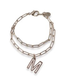 Mila Owen/モチーフ2連チェーンブレス/501437912