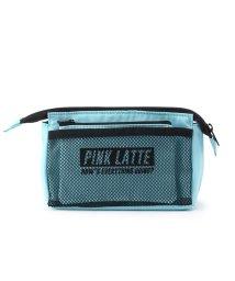 PINK-latte/フラットケース付き三角ポーチ/501437932
