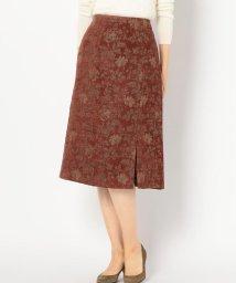 Khaju/Khaju:ジャカードスリットスカート/501438204