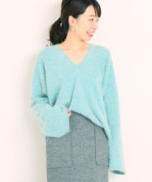 journal standard  L'essage /Blush Vネックニット◆/501438354