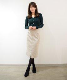 Eimy Peal by POWDER SUGAR/スエードサイドポケット付きタイトスカート/501387276