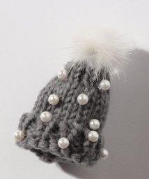 Leilian/ニット帽ブローチ/501392745
