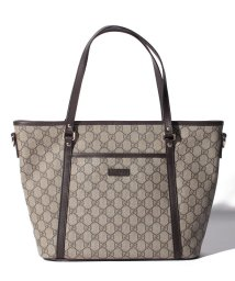 GUCCI/2WAYハンドバッグ / GG PLUS 【BEIGE/EBONY+CACAO】/501414853