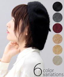 AMS SELECT/シャギーベレー/ベレー帽/ふわふわベレー/501440038