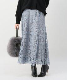 IENA/フレアーフラワーレーススカート◆/501440050
