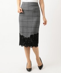 ICB(LARGE SIZE)/Lace Pattern Combo スカート/501440136